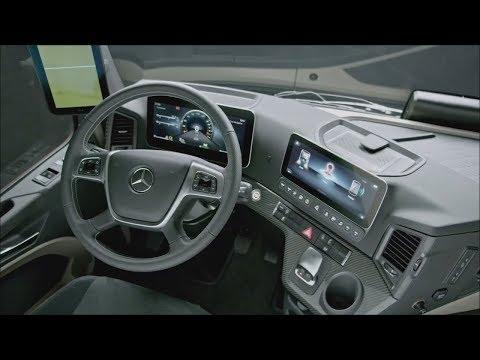 Мировая ПРЕМЬЕРА грузовика Mercedes Benz Actros 2019