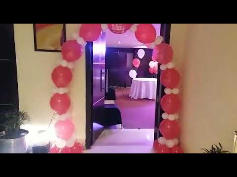 Beautiful Balloon Decoration At Home For Birthday Party 09891478183