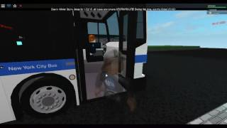 Roblox MTA bus: On Board 2008 Orion VII NG HEV On the Bx12