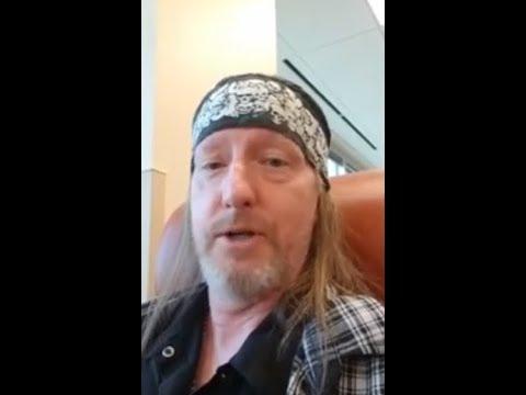 Warbeast vocalist Bruce Corbitt gets great news regarding cancer battle + renews vows!