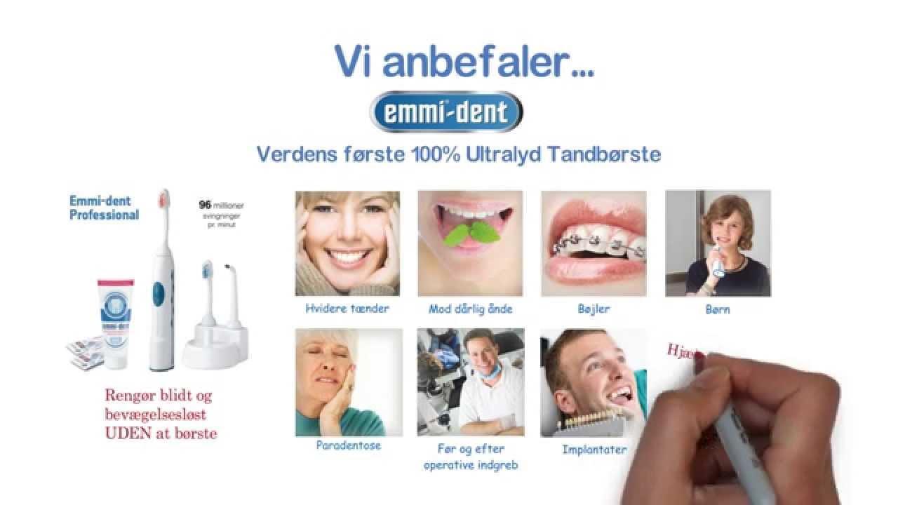 tandbørste med ultralyd