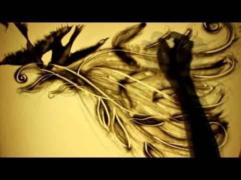 Песочная анимация 8 марта