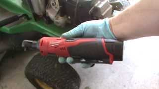 Milwaukee Cordless 1/4 in. Ratchet