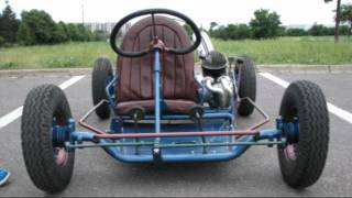 Motokára z roku 1959 - Renovace