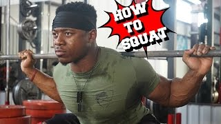How To Squat | Proper Form & Technique