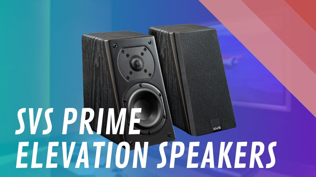 SVS Prime Elevation Speakers for Dolby Atmos - Quick Look India