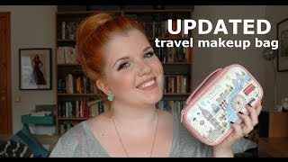 What's in my travel makeup bag? | September 2014 Thumbnail