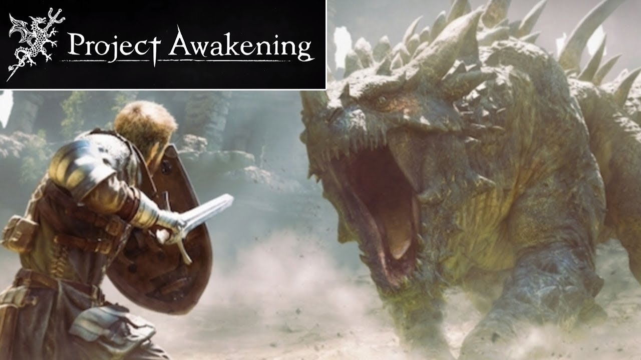 Project Awakening Gameplay Trailer Reaction New Monster