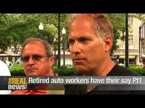 Retired auto workers have their say Pt.1