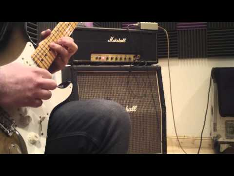 1974 Marshall Superlead 100W sound demo