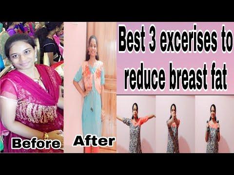 How to reduce breast fat fast in telugu|workouts to reduce breast size|weight loss tips in telugu