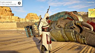 Assassin's Creed Origins - All Secret Level 40 Elephant Boss Locations (Legendary Outfit + Weapons)