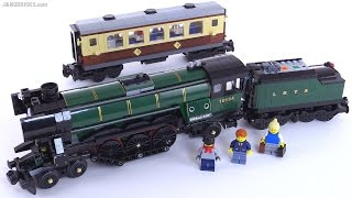 LEGO Emerald Night train from 2009 reviewed! set 10194 thumbnail