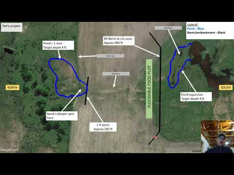Plan And Design For Floodable Duck Hunting Impoundment