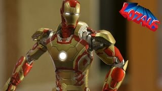 Two IRONMAN Action figures in the same house. Jealousy overcomes on...