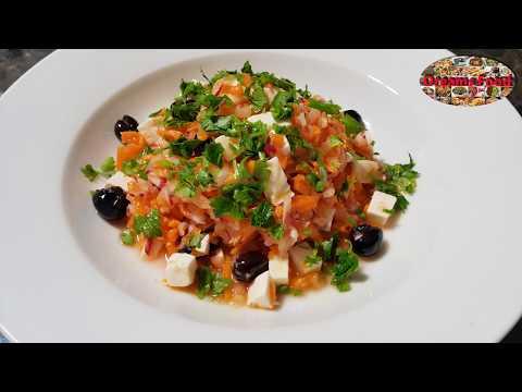 سلطة-الجزر-والفجل-carrots-and-radish-salad