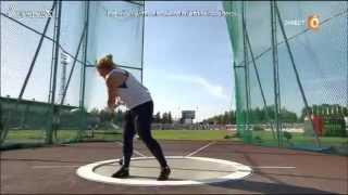 Alexandra Tavernier 74.05m PB Cheboksary 2015