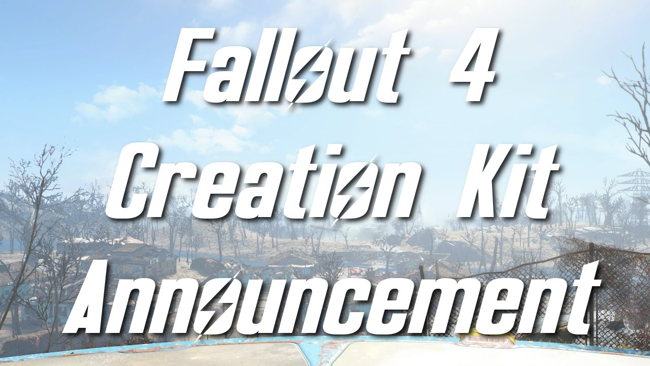 how to get fallout 4 creation kit ps4