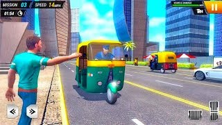 City Tuk Tuk Passenger Driving 2019 - Best Android Games - Android GamePlay HD