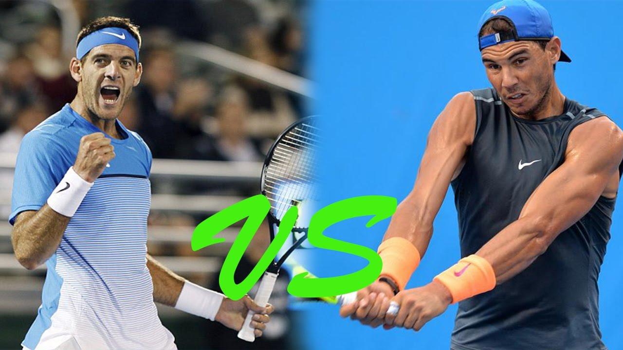 Image result for Rafael Nadal vs Juan Martin del Potro live