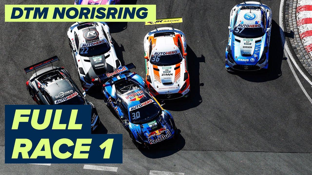 RE-LIVE | DTM Race 1 - Norisring | DTM Norisring powered by BWT Season Finale 2021