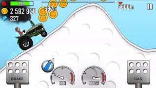 TRACTOR FULLY UPGRADED#HILL CLIMB RACING TRACTOR ON ARCTIC