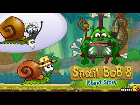 Snail Bob 8: Island Story All Level 1-30 Walkthrough