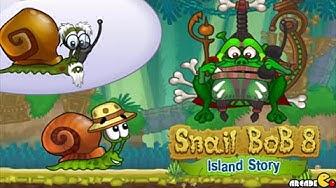 Snail Bob 8: Island Story All Level 1-30 Walkthrough