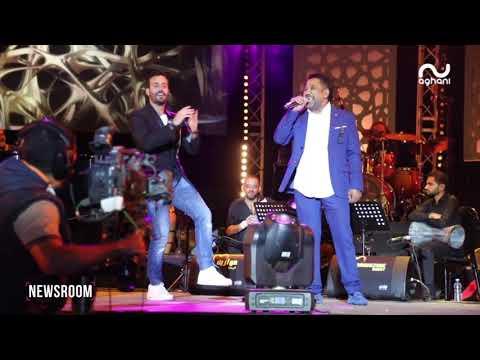 سعد رمضان يقف على مسرح موازين والشاب خالد يدعمه بمبادرة طيّبة!