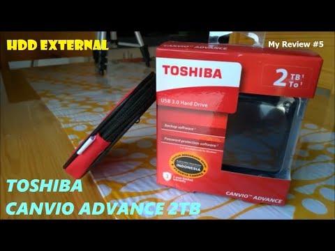 HDD External Kinclong - Toshiba Canvio Advance 2TB, My Review #5