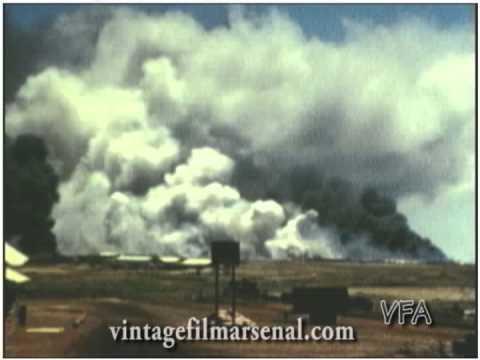 Vietnam War Home Movies Dong Ha 1968 ammo dump explosion 94th FA DaNang