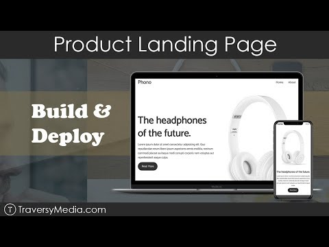 Product Landing Page | Build & Deploy | HTML & CSS