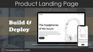 Download lagu Product Landing Page BuildDeploy HTMLCSS MP3