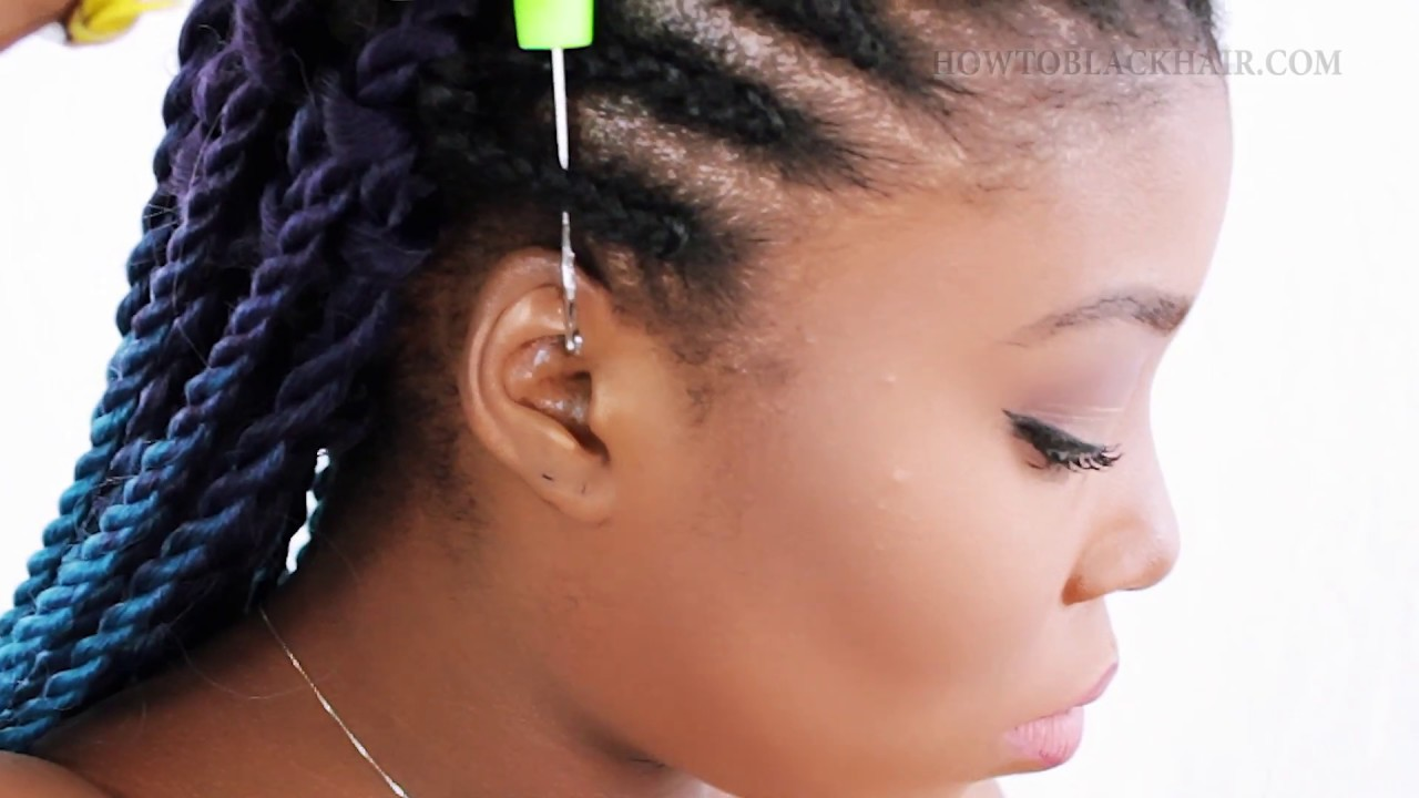 How To Crochet Braid Senegalese Twist For Beginners Step By Step
