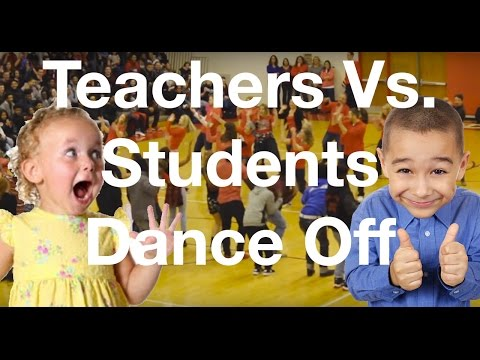 Evolution of Dance: Teachers Vs. Students Dance Off