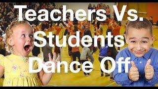 evolution of dance teachers vs students dance off