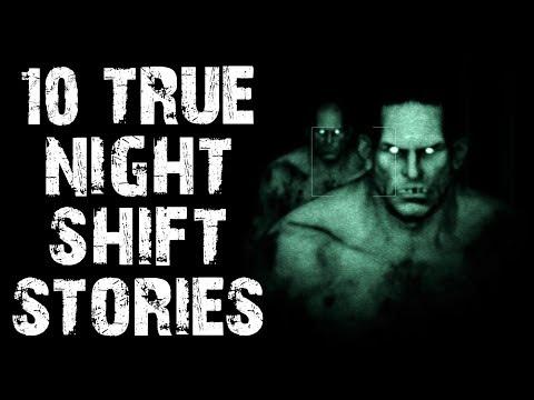 10 TRUE Creepy & Disturbing Night Shift Horror Stories | (Scary Stories)