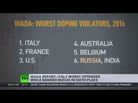 Unexpected Results? WADA Reveals Worst Doping Cheaters In 2016, Russia Not Even In Top 5