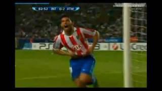 Inter VS Atletico De Madrid [0-2] -Supercopa de Europa- 2010 HD