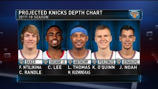 New York Knicks - Projected Roster - GameTime   2017-18 NBA Season