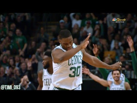 Guerschon Yabusele hits a three and dabs, Mike and Tommy don