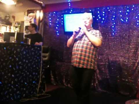 Bob and Colin sing Master of The House on Karaoke at the New Road Inn