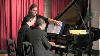 Harry Potter Theme Piano Arrangement -- Victor Cheng & Kevin Lau