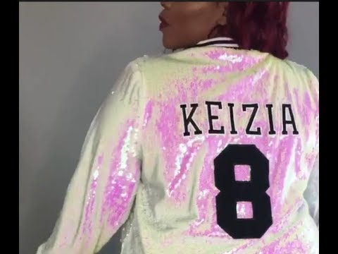 No Sew DIY Sequin Varsity Jacket