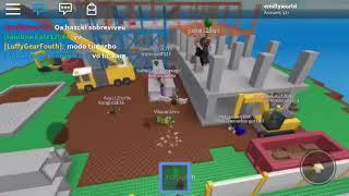 Team VII jogando Naturkatastrophe Survival em roblox
