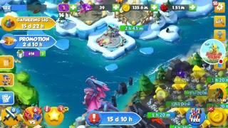 Dragon mania legends Boss Đảo Rồng Huyền Thoại ngày 825