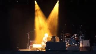 David Gray performing Snow in Vegas solo at Greenwich Music Time on...
