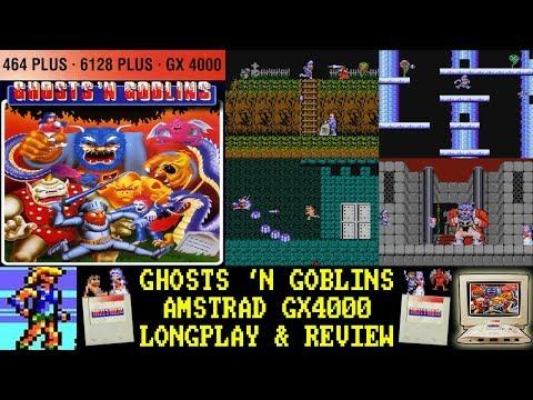 [AMSTRAD GX4000] Ghosts 'N Goblins - Longplay & Review