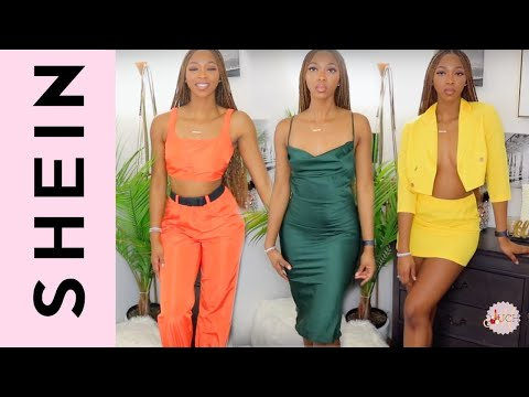 SHEIN TRY-ON HAUL - AFFORDABLE SPRING CLOTHES || Oluchi M.