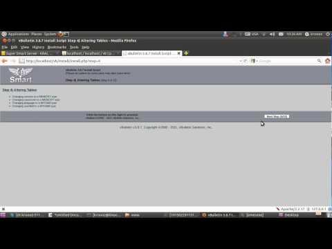 VBulletin Install